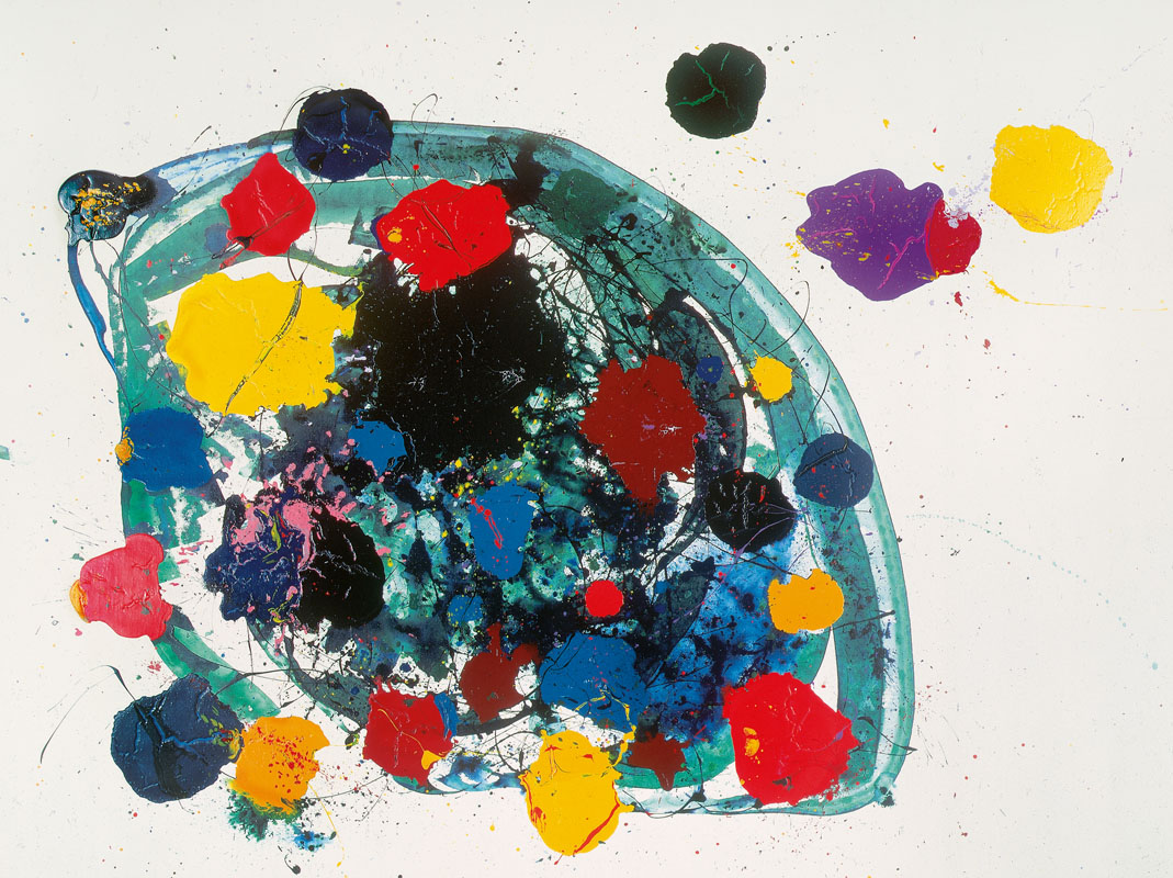 Sam Francis (USA) – Untitled | 1988 | acrylic on canvas | 365,5 x 490 cm