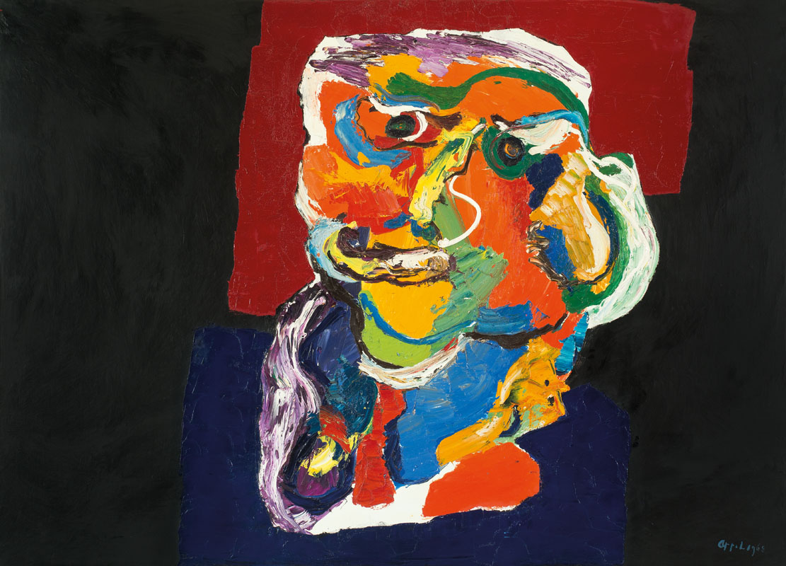 Karel Appel (NL) – Figure III | 1968 | oil on canvas | 180 x 250 cm