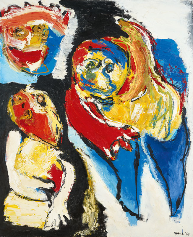 Karel Appel (NL) – Woman and Child | 1965 | oil on canvas | 230 x 190 cm